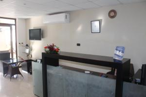The lobby or reception area at Grand Bay Suites