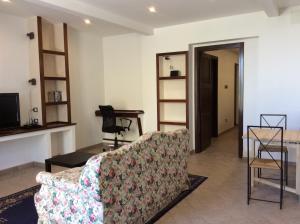 Letto o letti in una camera di I Rondoni B&B