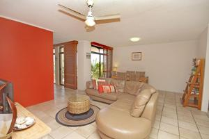 A seating area at Unit 4 'Cooltoro Court', Coolum Beach
