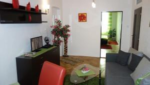Hol lub recepcja w obiekcie Apartments Rokytka - Praha