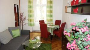 Restauracja lub miejsce do jedzenia w obiekcie Apartments Rokytka - Praha