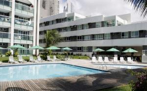 A piscina localizada em H Ponta Negra Beach - Luxo ou nos arredores