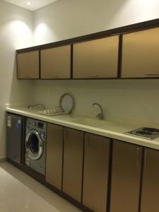 A cozinha ou cozinha compacta de Park Tulip