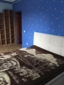 Кровать или кровати в номере Аpartment Maraunenhof
