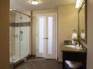A bathroom at Hotel Julien Dubuque