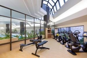 The fitness center and/or fitness facilities at Hilton Tokyo Hotel