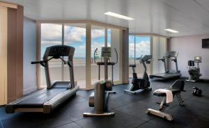 The fitness center and/or fitness facilities at Rendezvous Hotel Perth Scarborough