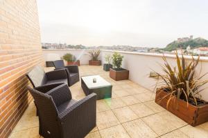 Un balcón o terraza de Eurosol Residence