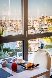 Breakfast options available to guests at Hotel Riviera dei Fiori