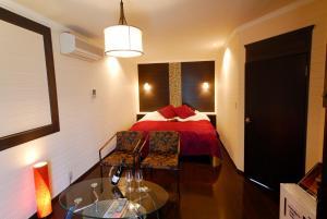 ホテルセレナ (レジャーホテル)にあるベッド