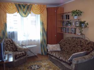 Гостиная зона в 1-комнатная квартира