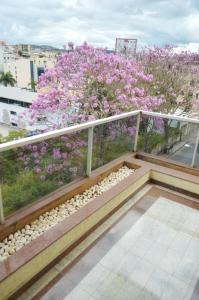 A balcony or terrace at Hospedaria Rofamos