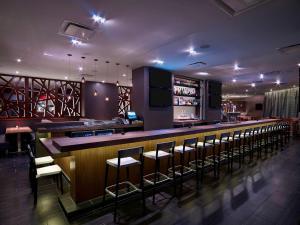 The lounge or bar area at Hyatt Regency Cincinnati