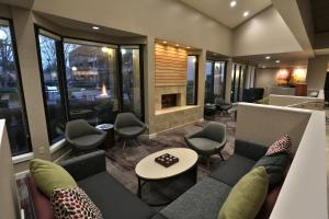 The lounge or bar area at Courtyard Montgomery