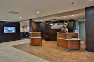 The lobby or reception area at Courtyard Montgomery