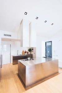 A kitchen or kitchenette at La Rotativa