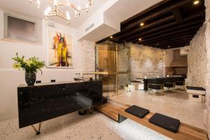 The lobby or reception area at Spirito Santo Palazzo Storico