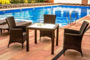 The swimming pool at or near Stanislavsky Hotel Group