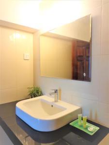 A bathroom at Hotel Pinnalanda