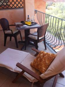 A seating area at Hotel Delle Isole