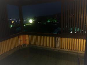 A balcony or terrace at Jukeiso