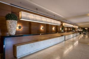 The lobby or reception area at Ergife Palace Hotel