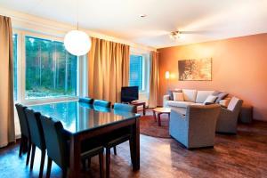 A seating area at Spa Hotel Peurunka