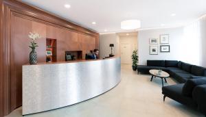 Лобби или стойка регистрации в Hotel Schwaiger