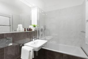 Ванная комната в Hotel Schwaiger