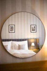 Letto o letti in una camera di Hotel Schwaiger