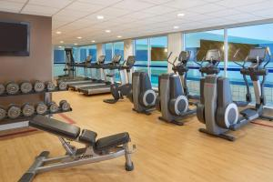 The fitness center and/or fitness facilities at Sheraton Ottawa Hotel
