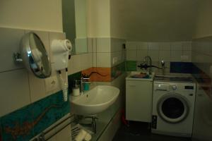A bathroom at Haripergo