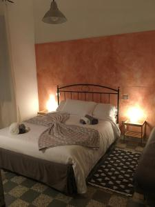 A bed or beds in a room at B&B Cristina e Stefano