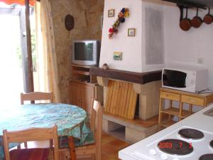 A kitchen or kitchenette at Les Bastidons rez jardin No 2
