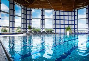The swimming pool at or close to OREA Hotel Pyramida Praha