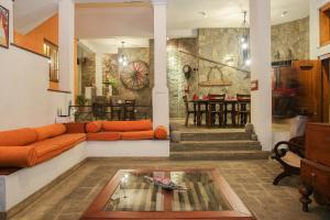 Hall ou réception de l'établissement Gruhaya Boutique Villa