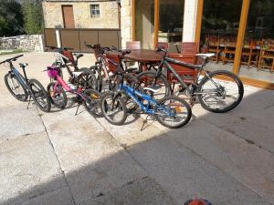 Biking at or in the surroundings of Casa o Leiteiro