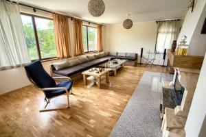 Кът за сядане в Къща за гости Вила Боженица