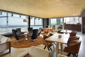 Lounge oder Bar in der Unterkunft Hotel SB Diagonal Zero Barcelona 4* Sup