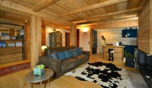 Ein Sitzbereich in der Unterkunft Haus Gabriel - Seefeld
