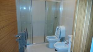 A bathroom at Casa Centenaria