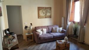 Zona de estar de Piazza Signoria Suite
