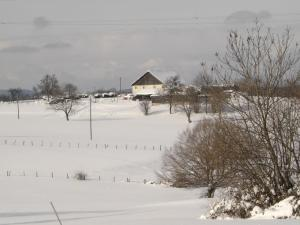 L'établissement gite Loca en hiver