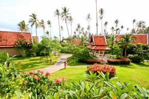 A garden outside Banburee Resort & All Spa Inclusive