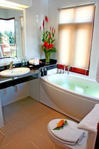 Ванная комната в Banburee Resort & All Spa Inclusive