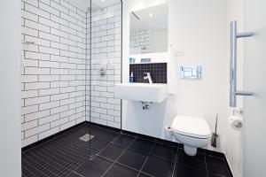Et badeværelse på Milling Hotel Ritz Aarhus City