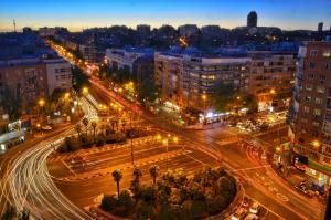 A bird's-eye view of Claridge Madrid