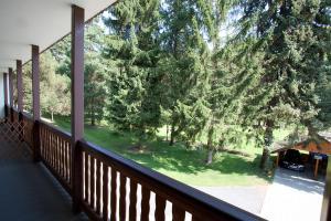 Балкон или терраса в Rodinný Penzion u Wolfů