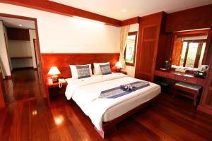 Кровать или кровати в номере Banburee Resort & All Spa Inclusive
