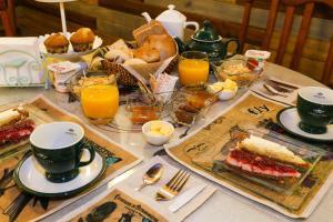 Opciones de desayuno disponibles en Hotel Albatros